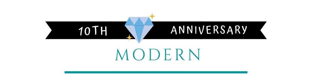 Banner Image of 10th Anniversary Modern Gift Ideas