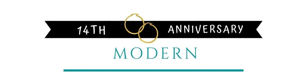 Banner Image of 14th Anniversary Modern Gift Ideas