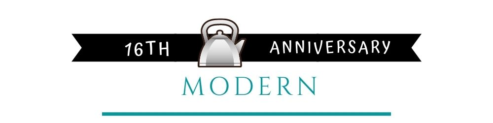 Banner Image of 16th Anniversary Modern Gift Ideas