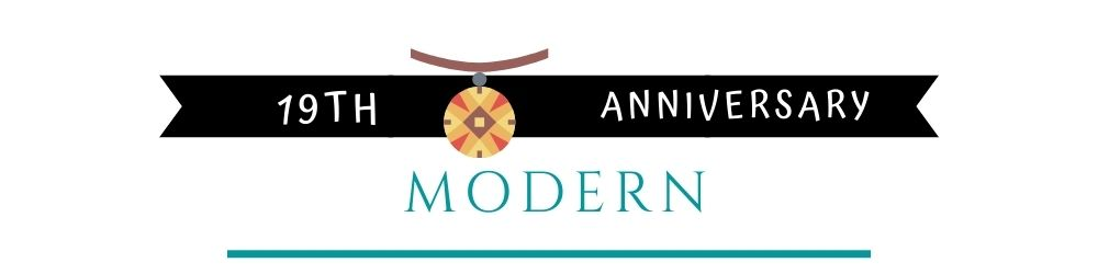 Banner Image of 19th Anniversary Modern Gift Ideas