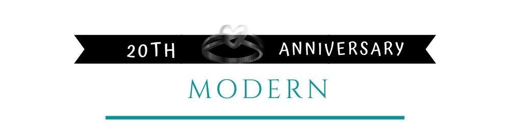 Banner Image of 20th Anniversary Modern Gift Ideas