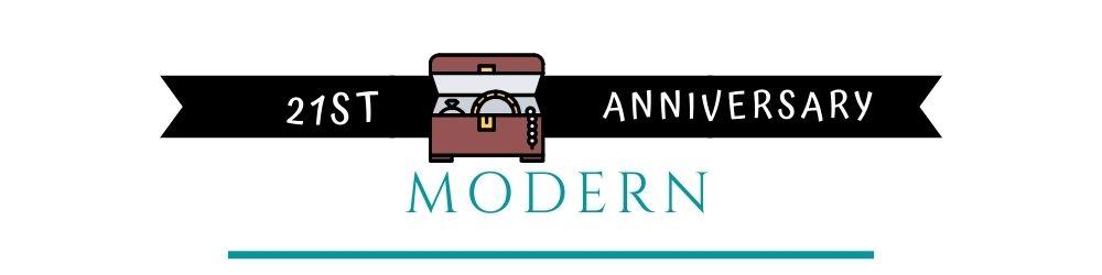 Banner Image of 21st Anniversary Modern Gift Ideas