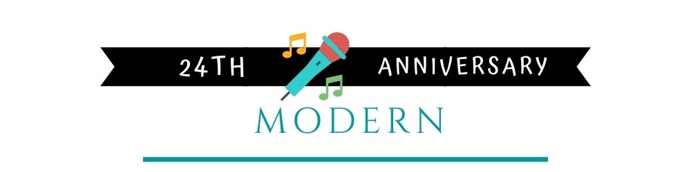Banner Image of 24th Anniversary Modern Gift Ideas