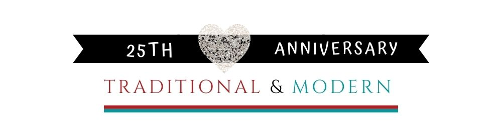 Banner Image of 25th Anniversary Traditional & Modern Gift Ideas