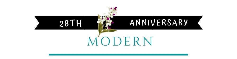 Banner Image of 28th Anniversary Modern Gift Ideas