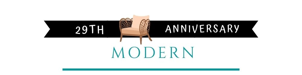 Banner Image of 29th Anniversary Modern Gift Ideas