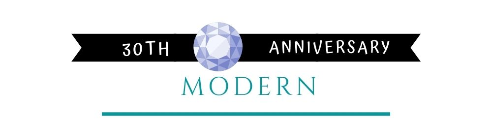 Banner Image of 30th Anniversary Modern Gift Ideas