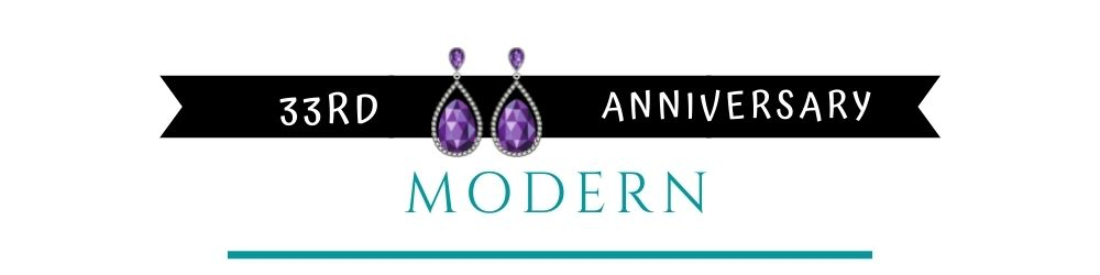 Banner Image of 33rd Anniversary Modern Gift Ideas