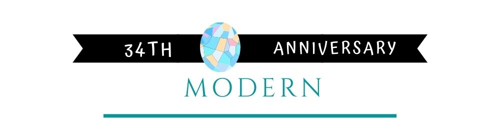 Banner Image of 34th Anniversary Modern Gift Ideas