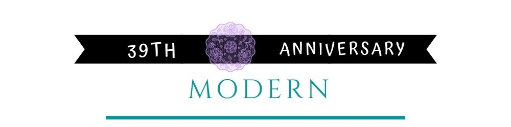 Banner Image of 39th Anniversary Modern Gift Ideas